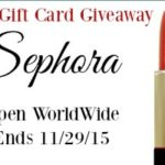 Sephora $150 Gift Card Giveaway