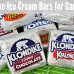 Klondike Ice Cream Bars for Game Day