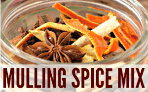 Homemade Mulling Spice Mix