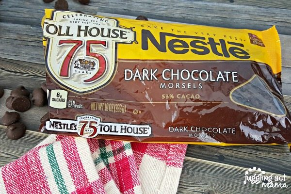 Chocolate Chip Cookie Dough Bars with Nestle Toll House Morsels