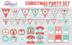 Christmas Party Printable Set