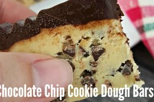 FEATURE Chocolate Chip Cookie Dough Bars