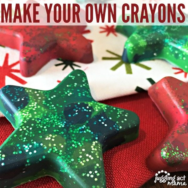 Make Your Own Crayons - Juggling Act Mama