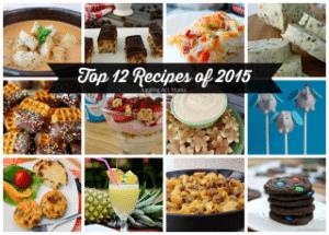 Top 12 Recipes of 2015