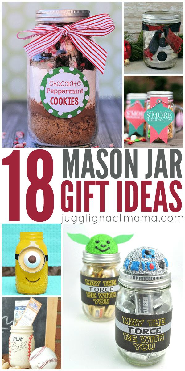 18 DIY Mason Jar Gift Ideas