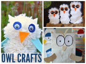 12 Wintry Owl Crafts