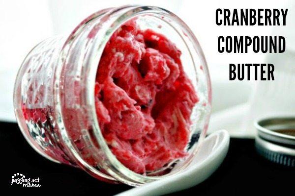 Cranberry Compound Butter