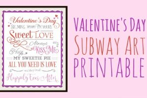 FEATURE Valentine's Day Printable