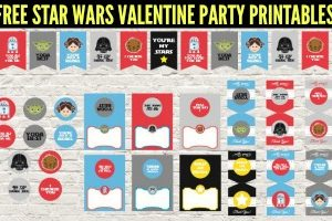 Star Wars Valentine and Party Printable Set - FREE DOWNLOAD