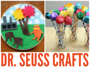15 Whimsical Dr. Seuss Inspired Crafts