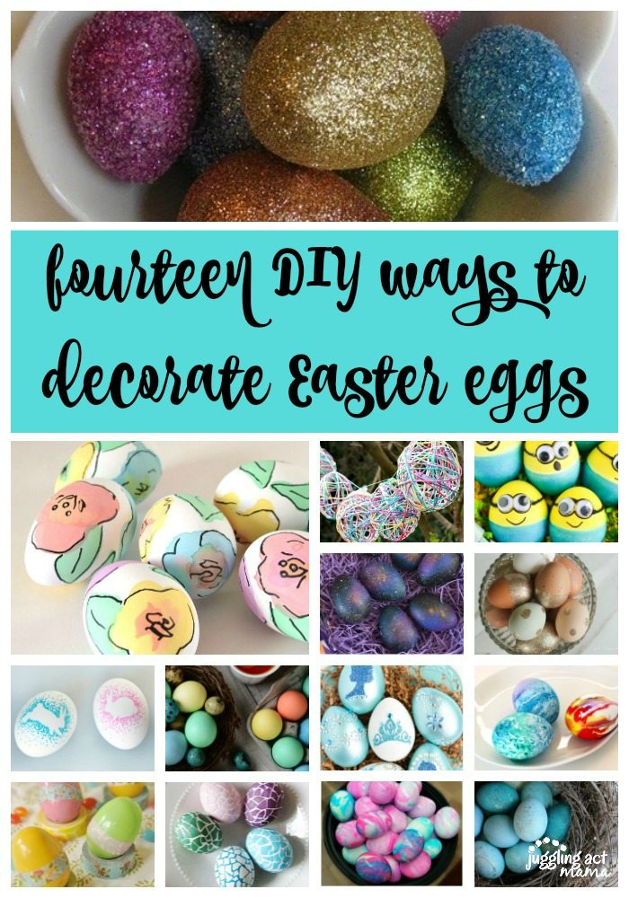 14 DIY Ways to Decorate Easter Eggs