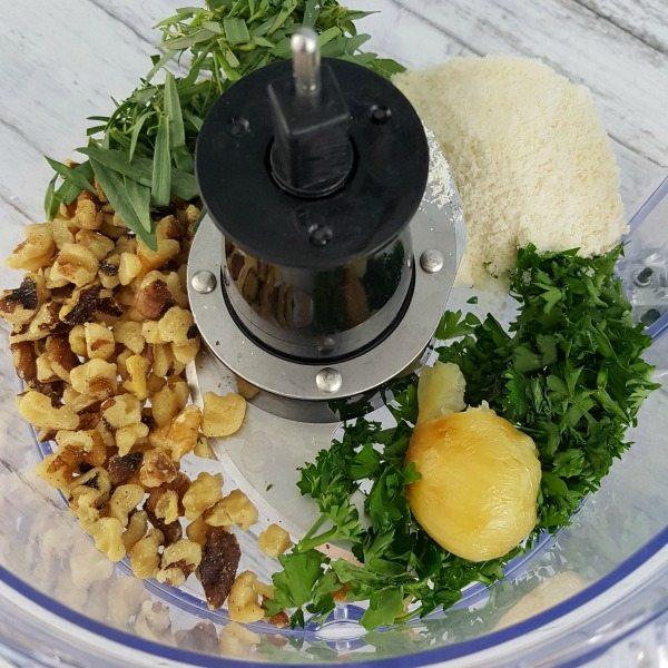 Tarragon Walnut Pesto