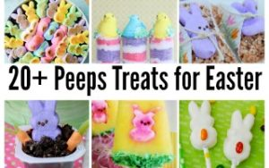 Peeps Treats for Easter