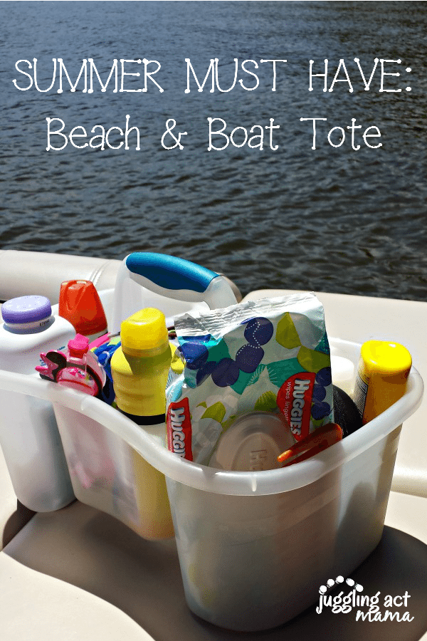 Successful summer travel starts at home with being prepared! Put together a Beach and Boat Tote to take with you with all your summer essentials.