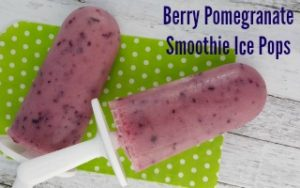 Berry Pomegranate Smoothie Pops