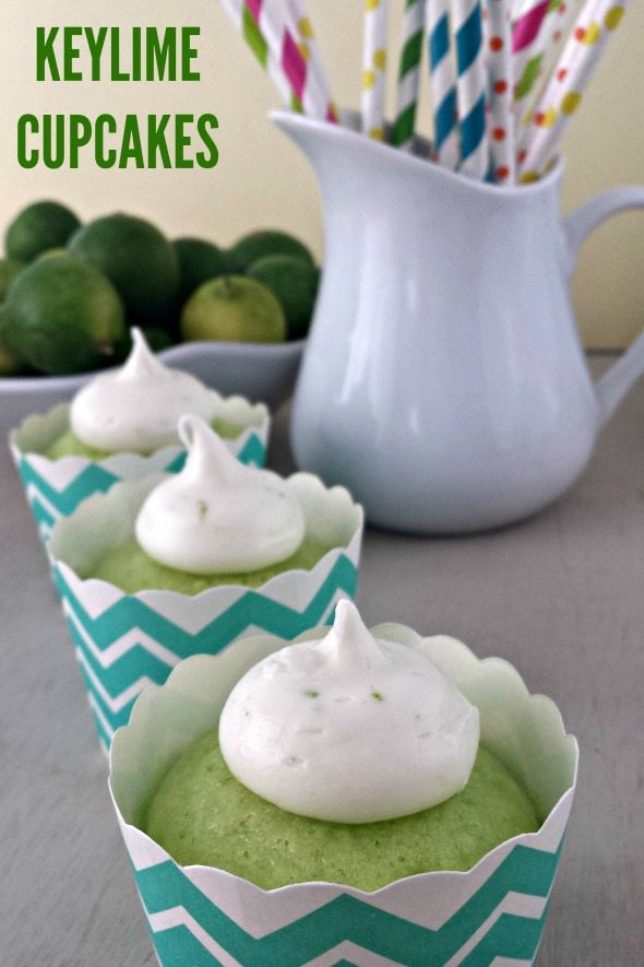 Frosted Keylime Cupcakes