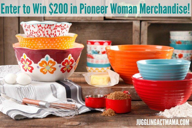 Springtime Pioneer Woman Giveaway