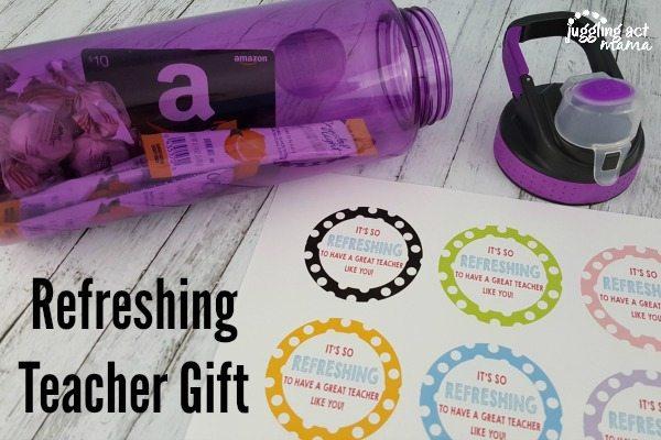 Refreshing Teacher Gift Idea #thankateacher