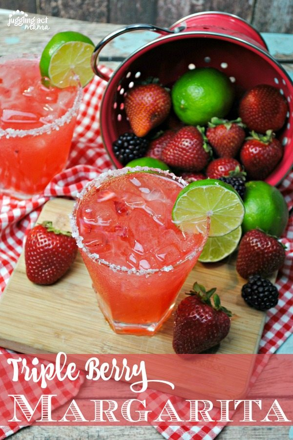 Triple Berry Margarita