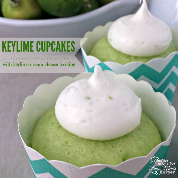 Tropical Keylime Cupcakes