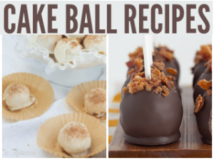 15 Cake Ball Recipes You'll Drool Over
