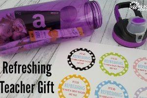 feature Refreshing Teacher Gift Idea