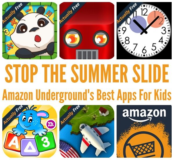 Amazon Underground's Best Apps For Kids