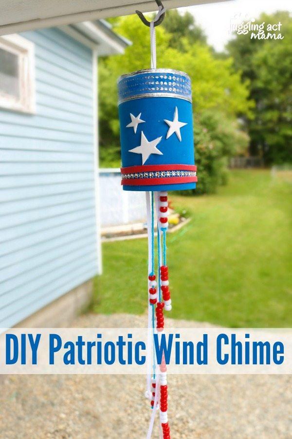 DIY Patriotic Wind Chime