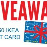 $150 IKEA Giveaway