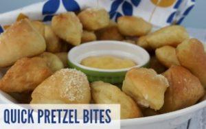 Quick Pretzel Bites