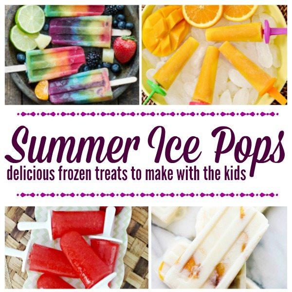 Summer Ice Pops