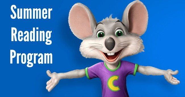 Summer Reading Programs chuck e cheese