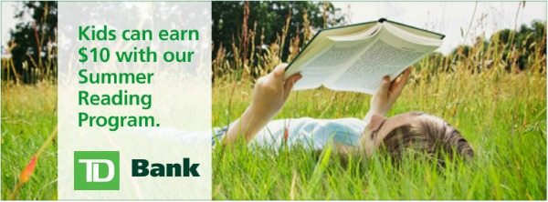 Summer Reading Programs:TD Bank