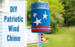 Patriotic Wind Chime Craft