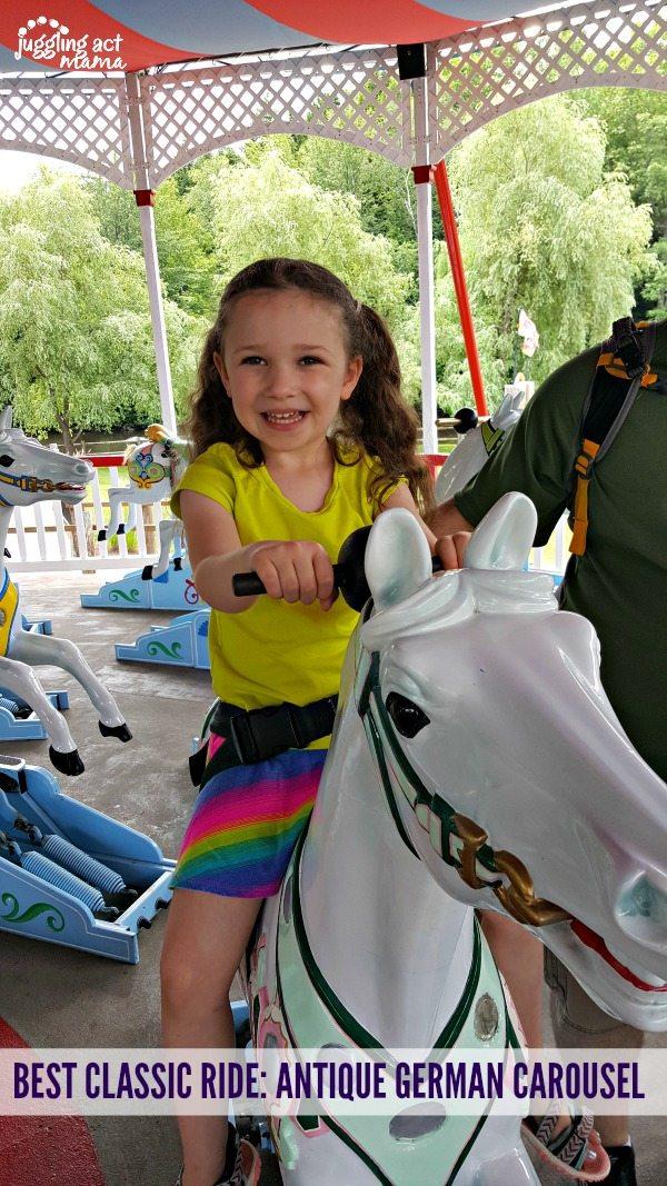5 Reasons to Visit StoryLand, Antique Carousel #Sponsored #StoryLandNH #MyStoryLandAdventure #WhiteMountains #NH