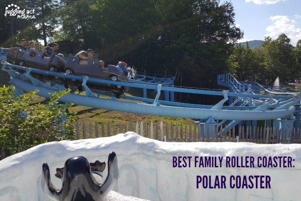 5 Reasons to Visit StoryLand, Polar Coaster #WhiteMountains #Sponsored #StoryLand #MyStoryLandAdventure #NH