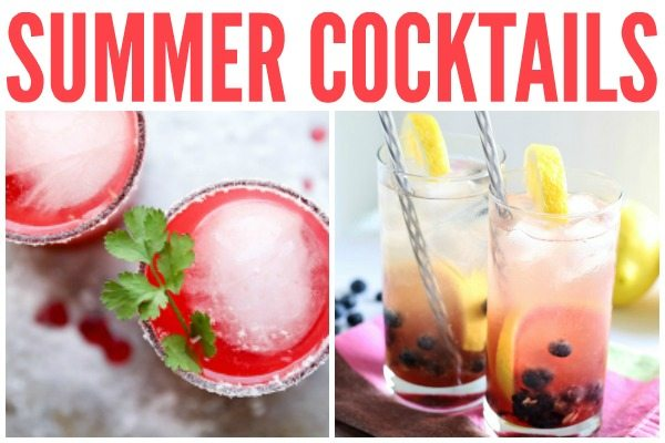 Summer Cocktails Horizontal
