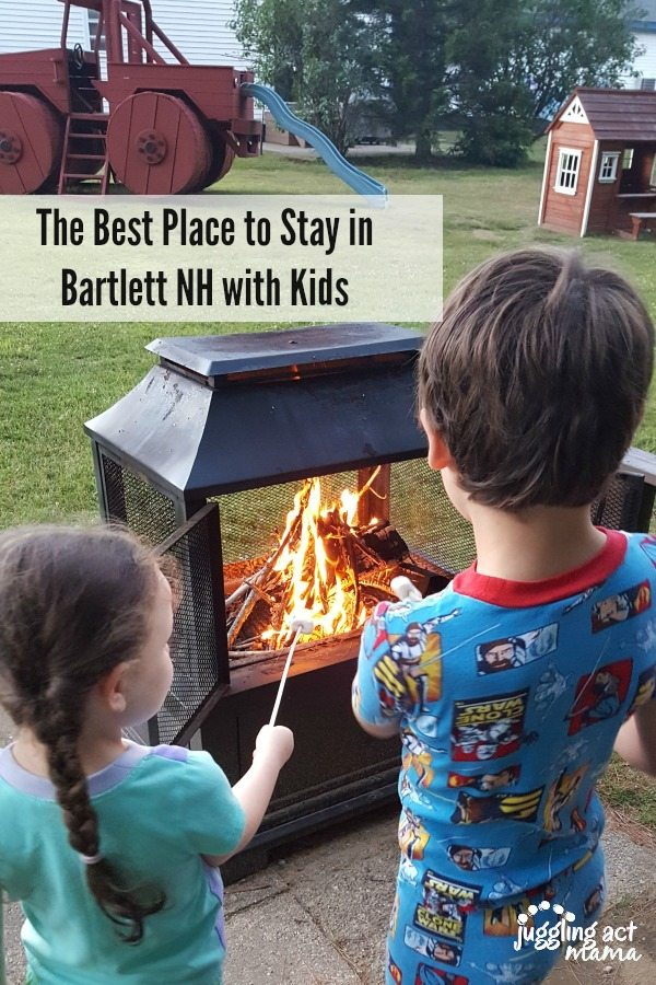 The best place to stay in Bartlett NH with kids #sp #NorthColonyMotelAndCottages #WhiteMountains #NH
