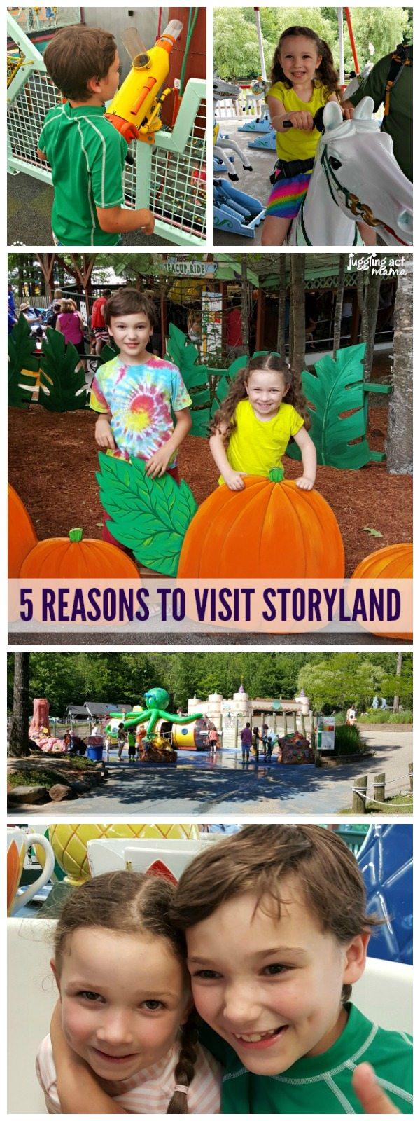 Top 5 Reasons to Visit StoryLand #Sponsored #StoryLandNH #MyStoryLandAdventure #WhiteMountains #NH
