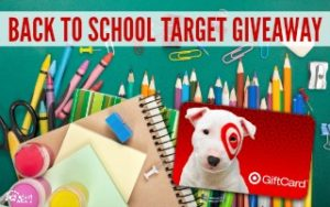 $100 Target Back to School Giveaway