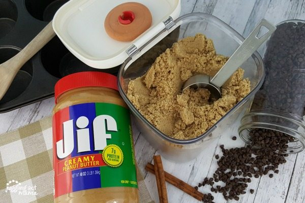 JIF brand peanut butter makes delicious muffins! #StartSchoolLikeAChampion #SamsClubBTS #PMedia #ad