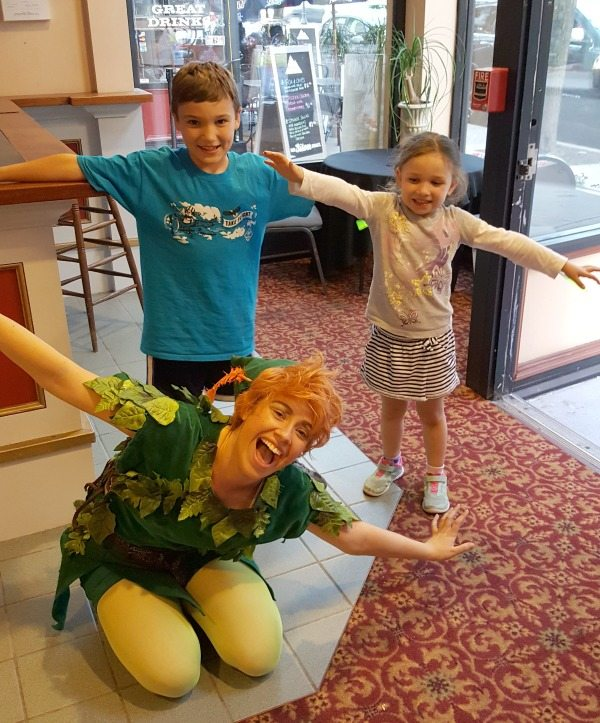 flying with Peter Pan at the Palace Theater Summer Childrens Series #sponsored