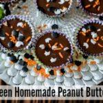 Halloween Homemade Peanut Butter Cups