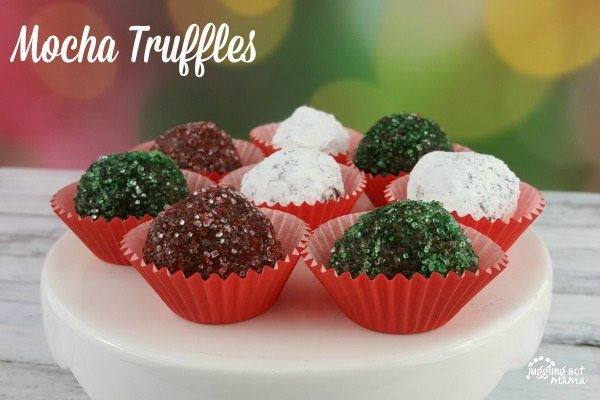 Mocha Truffles #CelebrateWithCoffee #ad