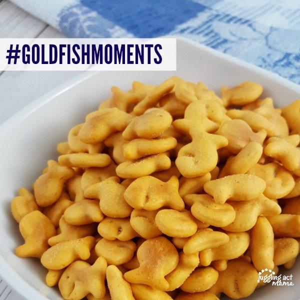 #GOLDFISHMOMENTS #SPONSORED