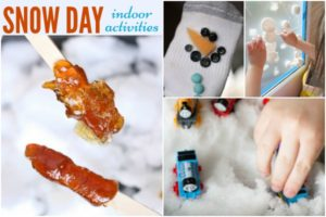 Fun Snow Day Indoor Activities