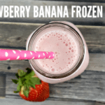 Strawberry Banana Frozen Whip