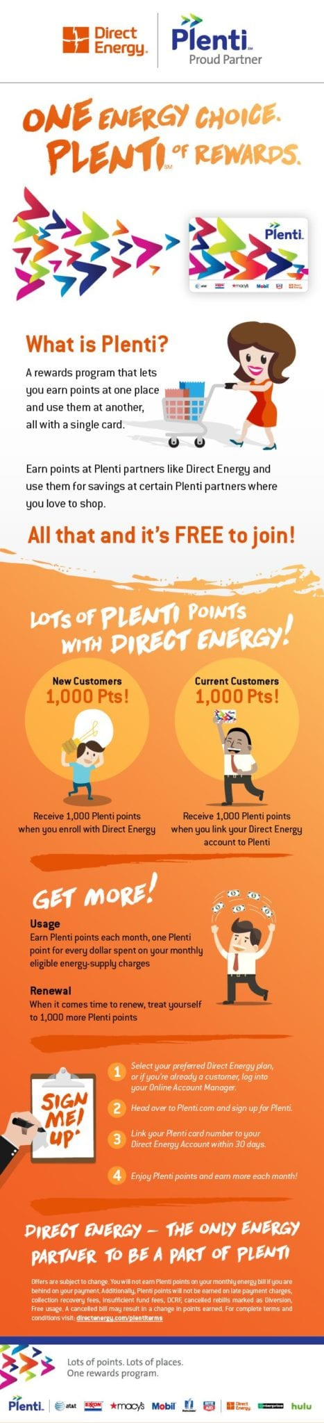 Direct Energy is the only energy provider to be a part of Plenti. #ad #DirectEnergyNewHampshire