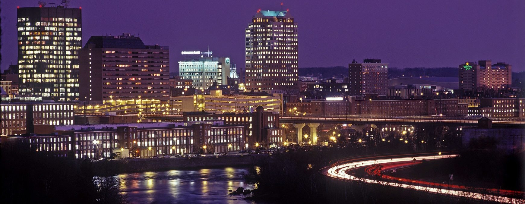 Manchester NH City Skyline courtesy of https://www.nheconomy.com/
