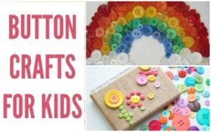 Creative Button Crafts #BoredomBusters
